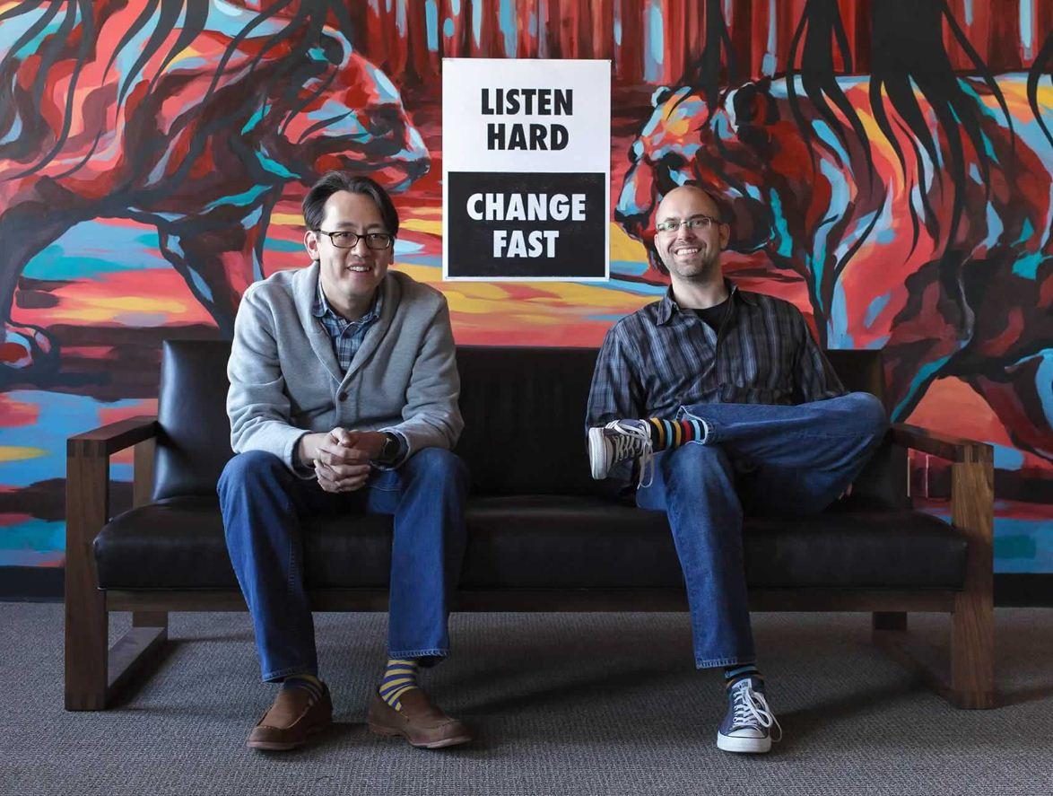 Ben Chesnut y Dan Kurzius, creadores de Mailchimp